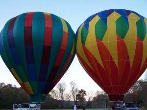 Fun Hot Air Ballon Ride