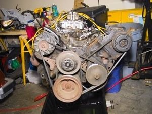 Engine removal