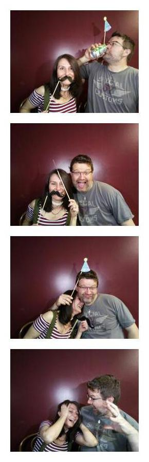 Photo Booth Sample Filmstrip #2
