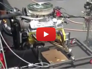 BumbleBee's Engine Running in a Test Stand
