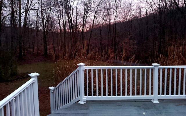 Front Porch View of our new house